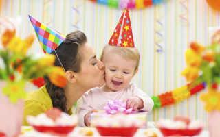 Идеи для дня рождения девочки 1 годик