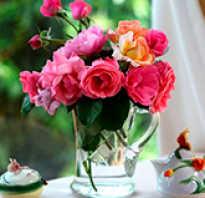 Стихи к подарку цветы прикольные