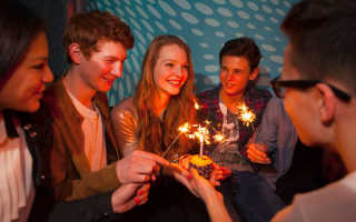 Сценарий празднования 18 летия девушки